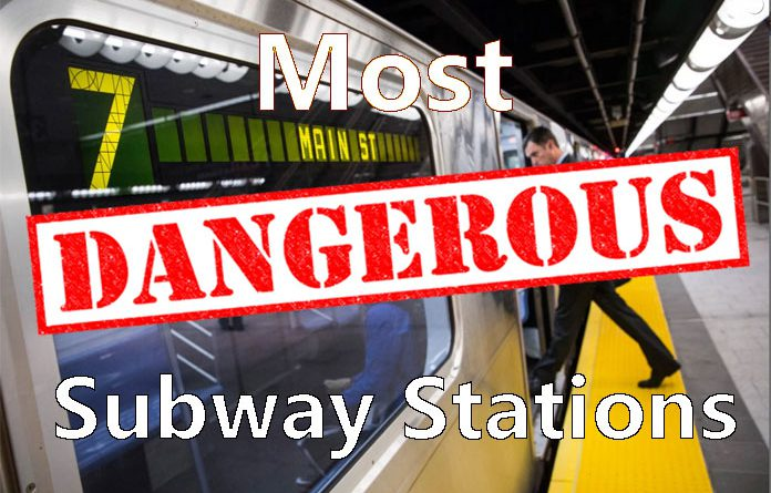Most dangerous stations on the NYC subway