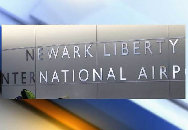 Newark Airport Parking Sign