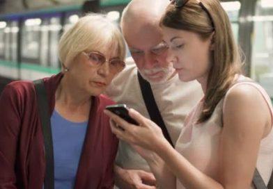 Senior Citizens on the Subway